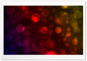 WarmCold Bokeh HD Wide Wallpaper for Widescreen