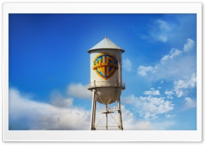 Warner Bros. Water Tower HD Wide Wallpaper for Widescreen