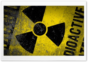 Warning Radioactive HD Wide Wallpaper for Widescreen