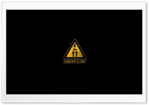 Warning Sign HD Wide Wallpaper for 4K UHD Widescreen desktop & smartphone
