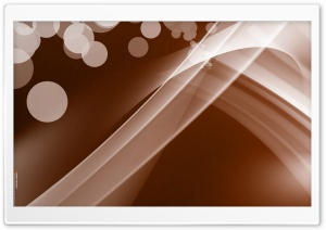 Warped Abstract (Brown) HD Wide Wallpaper for Widescreen