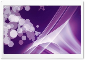 Warped Abstract (Purple) HD Wide Wallpaper for Widescreen