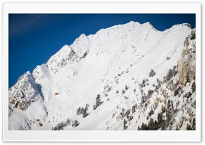 Wasatch Mountains Snow HD Wide Wallpaper for Widescreen