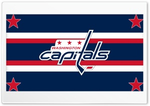 Washington Capitals HD Wide Wallpaper for Widescreen