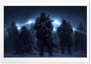 Wasteland 3 Rangers HD Wide Wallpaper for Widescreen
