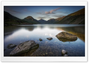 Wastwater Lake, Wasdale,  Evening, Lake District National Park, England Ultra HD Wallpaper for 4K UHD Widescreen desktop, tablet & smartphone