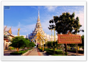 Wat Sothon Wararam Worawihan, Thailand HD Wide Wallpaper for Widescreen