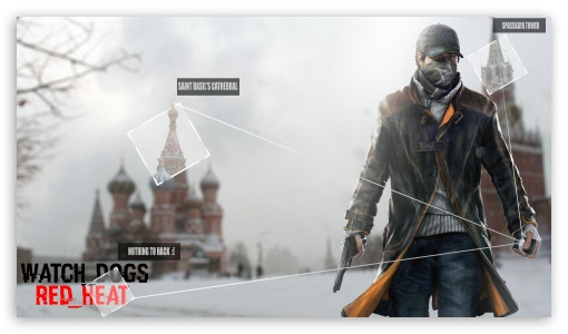 Watch Dogs HD wallpaper for HD 16:9 High Definition WQHD QWXGA 1080p 900p 720p QHD nHD ; Mobile PSP - Sony PSP Zune HD Zen ;