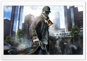 WATCH_DOGS HD Wide Wallpaper for Widescreen