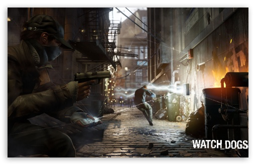 WATCH_DOGS 2013 Video Game HD wallpaper for Wide 16:10 5:3 Widescreen WHXGA WQXGA WUXGA WXGA WGA ; HD 16:9 High Definition WQHD QWXGA 1080p 900p 720p QHD nHD ; Mobile 5:3 16:9 - WGA WQHD QWXGA 1080p 900p 720p QHD nHD ;
