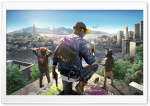 Watch Dogs 2 HD Wide Wallpaper for 4K UHD Widescreen desktop & smartphone