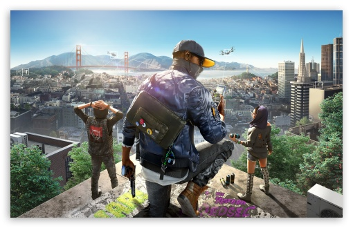 Watch Dogs 2 Ultra Hd Desktop Background Wallpaper For 4k Uhd Tv Widescreen Ultrawide Desktop Laptop Multi Display Dual Monitor Tablet Smartphone