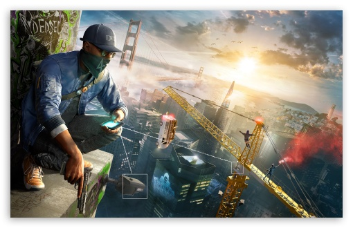 Watch Dogs 2 Ultra Hd Desktop Background Wallpaper For 4k Uhd Tv Multi Display Dual Monitor Tablet Smartphone