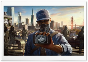 Watch Dogs 2 DedSec HD Wide Wallpaper for 4K UHD Widescreen desktop & smartphone