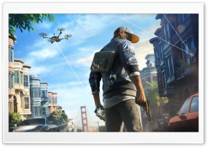 Watch Dogs 2 Marcus HD Wide Wallpaper for Widescreen