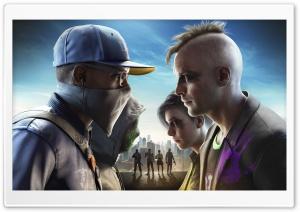 WATCH DOGS 2 No Compromise DLC Video Game HD Wide Wallpaper for 4K UHD Widescreen desktop & smartphone