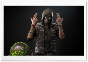 Watch Dogs 2 Wrench HD Wide Wallpaper for Widescreen