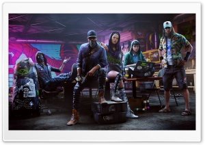 Watch Dogs 2 HD Wide Wallpaper for Widescreen