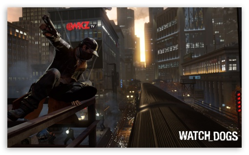 WATCH_DOGS Aiden Pearce HD wallpaper for Wide 5:3 Widescreen WGA ; HD 16:9 High Definition WQHD QWXGA 1080p 900p 720p QHD nHD ; Mobile 5:3 16:9 - WGA WQHD QWXGA 1080p 900p 720p QHD nHD ;
