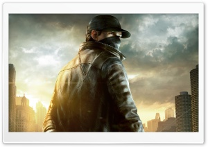 WATCH DOGS Aiden Pearce HD Wide Wallpaper for Widescreen