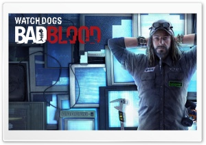 Watch Dogs Bad Blood HD Wide Wallpaper for Widescreen