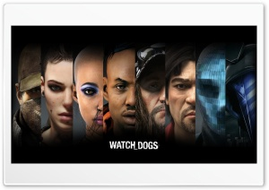 Watch Dogs Banner HD Wide Wallpaper for Widescreen