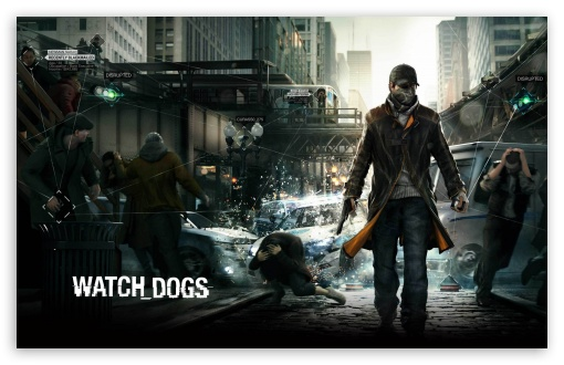 Watch Dogs HD HD wallpaper for Wide 16:10 5:3 Widescreen WHXGA WQXGA WUXGA WXGA WGA ; HD 16:9 High Definition WQHD QWXGA 1080p 900p 720p QHD nHD ; Standard 4:3 3:2 Fullscreen UXGA XGA SVGA DVGA HVGA HQVGA devices ( Apple PowerBook G4 iPhone 4 3G 3GS iPod Touch ) ; iPad 1/2/Mini ; Mobile 4:3 5:3 3:2 16:9 - UXGA XGA SVGA WGA DVGA HVGA HQVGA devices ( Apple PowerBook G4 iPhone 4 3G 3GS iPod Touch ) WQHD QWXGA 1080p 900p 720p QHD nHD ;