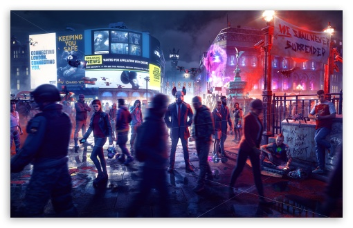 Download Watch Dogs Legion Game 2020 HD Wallpaper