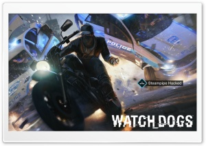 Watch Dogs Steampipe Hacked HD Wide Wallpaper for Widescreen