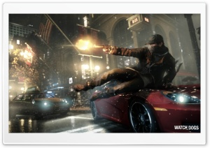 Watch Dogs Video Game HD Wide Wallpaper for Widescreen