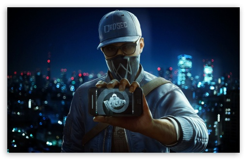 Watch Dogs High Resolution Games Hd Wallpaper For Mobile: Marcus Holloway 4K HD Desktop Wallpaper For