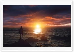 Watching the Sunset Ultra HD Wallpaper for 4K UHD Widescreen desktop, tablet & smartphone