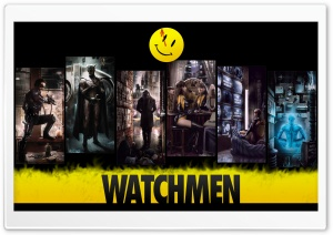 Watchmen Ultra HD Wallpaper for 4K UHD Widescreen desktop, tablet & smartphone