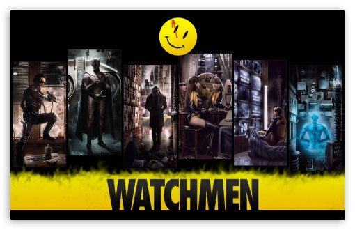 Download Watchmen UltraHD Wallpaper