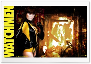 Watchmen Silk Spectre HD Wide Wallpaper for Widescreen