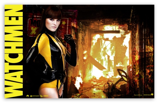 Watchmen Silk Spectre HD wallpaper for Wide 16:10 5:3 Widescreen WHXGA WQXGA WUXGA WXGA WGA ; HD 16:9 High Definition WQHD QWXGA 1080p 900p 720p QHD nHD ; Mobile 5:3 16:9 - WGA WQHD QWXGA 1080p 900p 720p QHD nHD ;