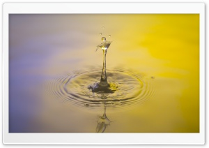 Water Art HD Wide Wallpaper for Widescreen