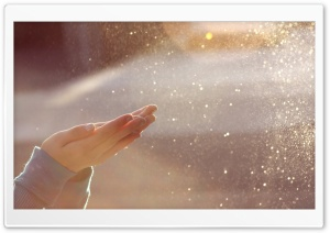 Water Bokeh HD Wide Wallpaper for Widescreen