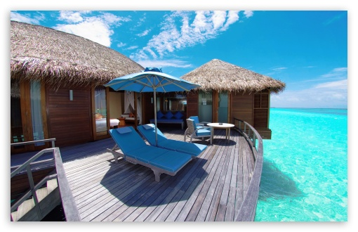Water Bungalows In Maldives Resort HD wallpaper for Wide 16:10 5:3 Widescreen WHXGA WQXGA WUXGA WXGA WGA ; HD 16:9 High Definition WQHD QWXGA 1080p 900p 720p QHD nHD ; Standard 4:3 5:4 3:2 Fullscreen UXGA XGA SVGA QSXGA SXGA DVGA HVGA HQVGA devices ( Apple PowerBook G4 iPhone 4 3G 3GS iPod Touch ) ; Tablet 1:1 ; iPad 1/2/Mini ; Mobile 4:3 5:3 3:2 16:9 5:4 - UXGA XGA SVGA WGA DVGA HVGA HQVGA devices ( Apple PowerBook G4 iPhone 4 3G 3GS iPod Touch ) WQHD QWXGA 1080p 900p 720p QHD nHD QSXGA SXGA ;