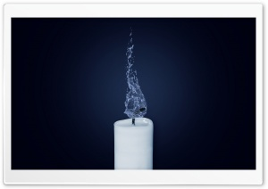 Water Candle HD Wide Wallpaper for 4K UHD Widescreen desktop & smartphone