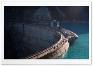Water Dam HD Wide Wallpaper for Widescreen