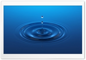 Water Drop HD Wide Wallpaper for Widescreen