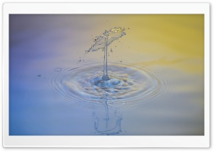 Water Drop Art HD Wide Wallpaper for Widescreen