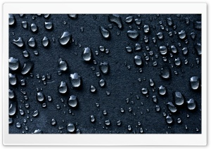 Water Drops Dark Background HD Wide Wallpaper for Widescreen