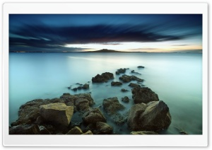 Water Long Exposure HD Wide Wallpaper for Widescreen