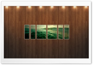 Water Picture   Wood Wall HD Wide Wallpaper for Widescreen