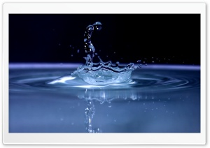 Water Splash Background HD Wide Wallpaper for Widescreen