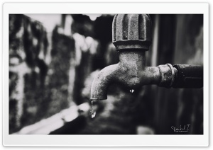Water Tap HD Wide Wallpaper for Widescreen