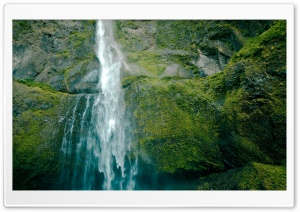 Waterfall And Rocks HD Wide Wallpaper for Widescreen