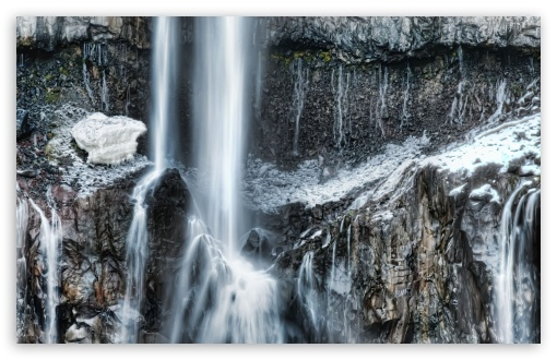 Waterfall In Winter Time HD wallpaper for Wide 16:10 5:3 Widescreen WHXGA WQXGA WUXGA WXGA WGA ; HD 16:9 High Definition WQHD QWXGA 1080p 900p 720p QHD nHD ; Standard 4:3 5:4 3:2 Fullscreen UXGA XGA SVGA QSXGA SXGA DVGA HVGA HQVGA devices ( Apple PowerBook G4 iPhone 4 3G 3GS iPod Touch ) ; Tablet 1:1 ; iPad 1/2/Mini ; Mobile 4:3 5:3 3:2 16:9 5:4 - UXGA XGA SVGA WGA DVGA HVGA HQVGA devices ( Apple PowerBook G4 iPhone 4 3G 3GS iPod Touch ) WQHD QWXGA 1080p 900p 720p QHD nHD QSXGA SXGA ;